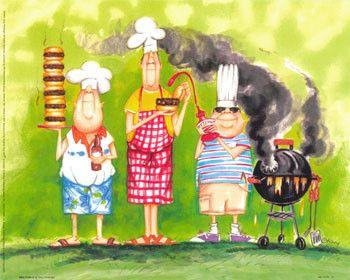 Le chef cuisinier - Dessin cuisinier humoristique ...