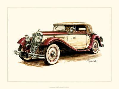 Vieilles voitures - Dessin vieille voiture ...