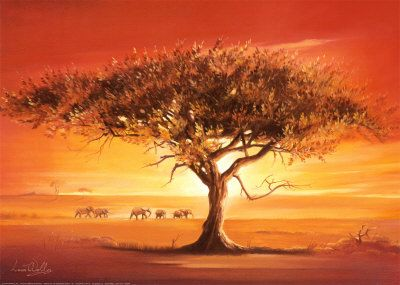 Images d afrique page 4 - Dessin paysage africain ...